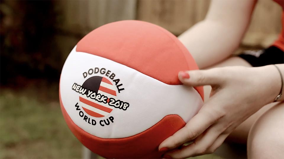 World Dodgeball Association charity video music video